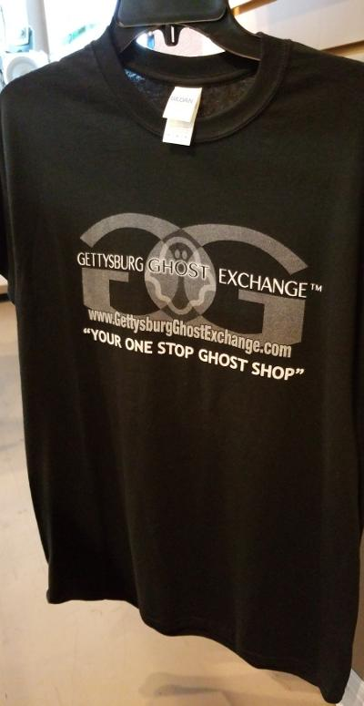 Exclusive T-Shirts only found that the Gettysburg Ghost Exchange perfect for ghost hunting